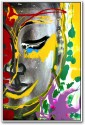 Lord Buddha Painting Paper Print - Small