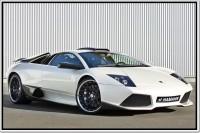 Lamborghini Lamborghini Aventador White Poster