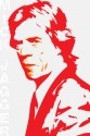 Rolling Stones Mick Jagger - Red Paper Print - Medium, Rolled