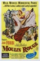 Moulin Rouge - Yellow - 1952 Paper Print - Small, Rolled