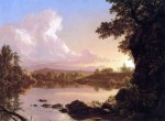 The Museum Outlet Catskill Creek by Frederick Edwin Church Print