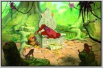 Shopolica Posters Jungle Book King Louie Playing Poster Paper Print