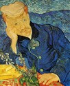 Portrait Of Dr Gachet By Vincent Van Gogh Fine Art Print - Medium