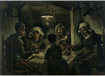 The-Potato-Eaters-30x21-Canvas-Art