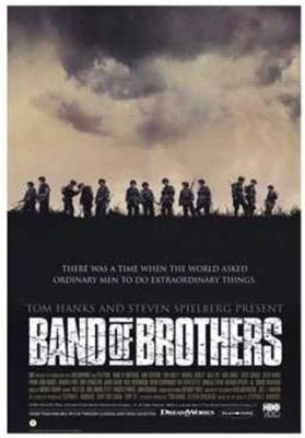 band of brothers film essay Band of brothers by: stephen ambrose band of brothers is the history of easy company, 506th parachute infantry regiment, 101st airborne division, from basic training to d-day it follows the jump into holland, the battle of the bulge, and finally the occupation of berchtesgaden and austria.