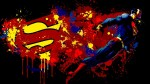 MNTC Posters Superman Cartoon Poster Paper Print