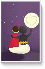 PosterGuy Posters Funny Romantic Tale Paper Print