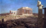 The Museum Outlet The Parthenon by Frederick Edwin Church Print