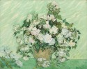 Roses By Vincent Van Gogh Fine Art Print - Medium