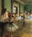 The Dancing Class By Edgar Degas Fine Art Print - Medium