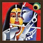 Luxaim Posters Attractive Art Gopal Krishna Frame By Returnfavors. Canvas Art