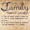 Family Meaning Art Print Fine Art Print - POSDWBQTZHYHZPGB