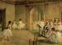 Dance Class At The Opera By Edgar Degas Fine Art Print - Medium
