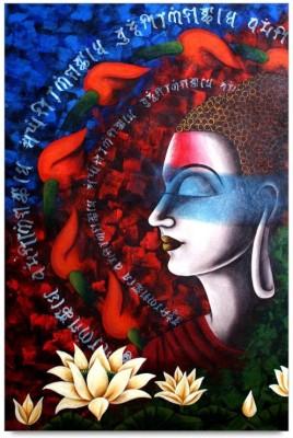 ShopMantra Posters Buddha Artwork Design Laminated Poster Paper Print