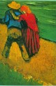 Two Lovers Large By Van Gogh Fine Art Print - Large