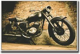 Vintage Motorcycle Fine Art Print