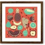 Chumbak Posters Fruits Fine Art Print