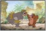 Shopolica Posters Jungle Book Baloo And King Louie Poster Paper Print