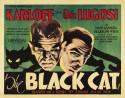 Black Cat, The (1934) Fine Art Print - Medium