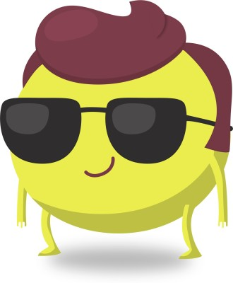 cool-dude-emoji-Laminated-Poster-11-x-16-Photographic-Paper