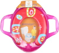 Ole Baby Jumbo Soft Cushion Jolly Potty Trainer Seat Assorted Potty Seat (Red, Pink)