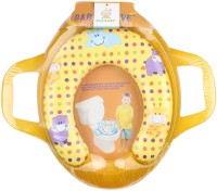 Ole Baby Jumbo Soft Cushion Polka Hippo Potty Trainer Seat Assorted Potty Seat (Yellow)