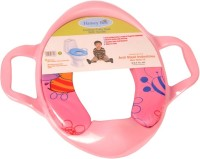 Honey Bee Cushioned Seat With Handle Potty Seat (Pink)