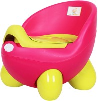 Ole Baby Adaptable Portable Chair Durable Wester Styl WC For Baby/Kids Anti Skid Material With Removable Box Potty Box (Pink)