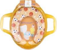 Ole Baby Jumbo Soft Cushion Sports Ball Potty Trainer Seat Assorted Potty Seat (Yellow)