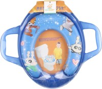 Ole Baby Jumbo Soft Half Cushion Stars Potty Trainer Seat Assorted Potty Seat (Blue)