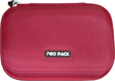 Neopack Hard Drive Case Pouch Red