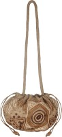 Fair Crafts Potli Bag Cross Body Bag Brown