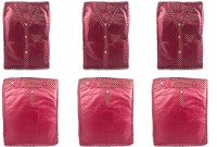 Annapurna Sales Maroon Pairasute Large Pant Or Jeans Or Trouser & Shirt Or T-Shirt Cover - Set Of 6 Pcs. Pouch Maroon
