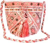 Diwaah Embroidered Potli - Pink