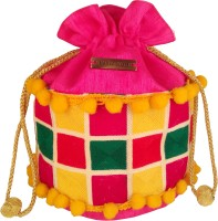 Haute Potli HP_Ethnic_Mu5 Potli - Pink