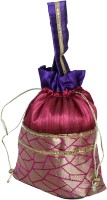 Bag Berry Texture Potli - Pink