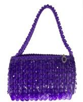 Heels & Handles Plastique Pouch - Purple