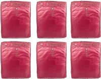 Annapurna Sales Maroon Pairasute Large Pant Or Jeans Or Trouser Cover - Set Of 6 Pcs. Pouch Maroon