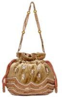 Craftstages Ethnic Party Wear Design Potli (Golden)