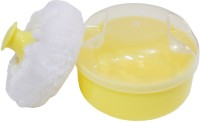 Rachna Baby 03 Premium Face & Talcum Powder Puff With Case (Yellow)