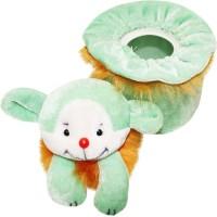 Wonderkids Teddy Baby Powder Puff (Orange)