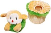Wonderkids Teddy Baby Powder Puff (Yellow)