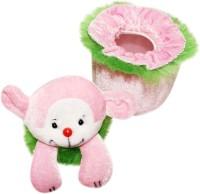Wonderkids Teddy Baby Powder Puff (Green)