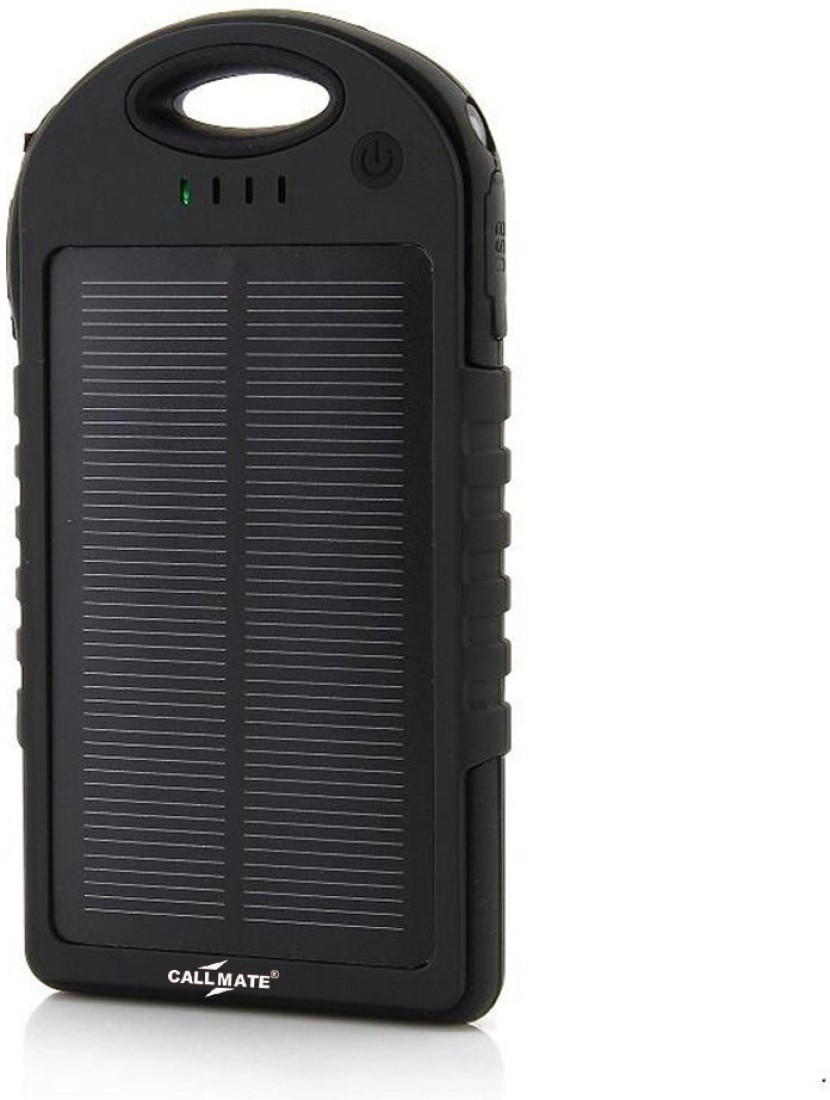 Callmate 5000mAh Solar Power Bank