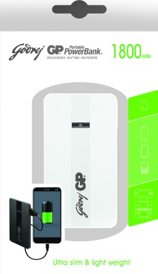 Godrej GP GP511A 1800mAh Power Bank