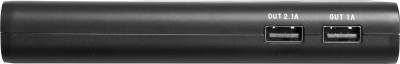 Ambrane P-1310 Power Bank 13000 mAh (Black, Grey)
