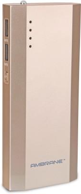 Ambrane P-1111 Power Bank 10000 mAh (Gold)