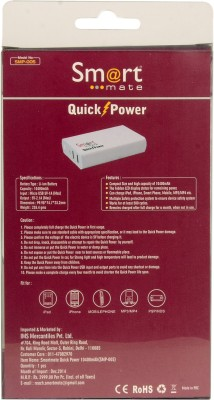 Smartmate SMP005 10400mAh Dual USB Power Bank