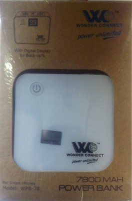 Wonder Connect WPB-7801 7800mAh Power Bank