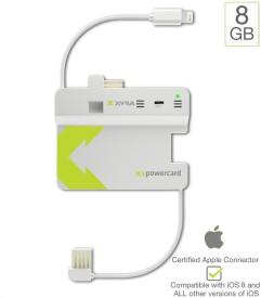 XYRA-XS-Powercard-8GB-Micro-USB-2200mAh-Power-Bank
